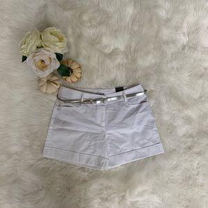 New! Express White Shorts - Size 4